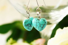 Do you like it? I love it very much. You can find this turquoise earrings here:  https://www.etsy.com/listing/586899095/jewelry-handmade-metal-jewelry-bohemian?ref=shop_home_active_1