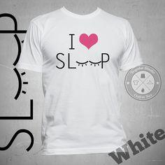 """Jual Kaos Tumblr """"I Heart Sleep"""" - Yoyaku Shop   Tokopedia"""