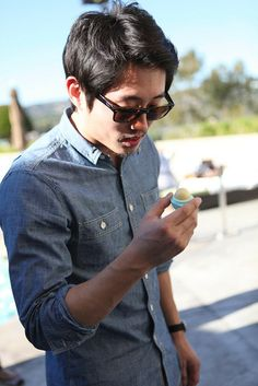 Steven Yeun --- Glenn of The Walking Dead