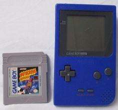 Blue Nintendo Game Boy Pocket MGB-001 Used Working Gameboy System Console GUC #Nintendo #GameBoy