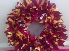 Florida State Seminoles Ribbon Wreath  https://www.etsy.com/shop/tomfam18?ref=hdr_shop_menu