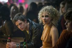 Jagger as Kip alongside Vinyl co-star Juno Temple as Jamie