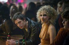 Jagger as Kip alongside Vinyl co-star Juno Temple as Jamie