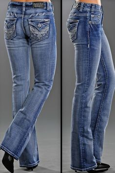 "Rock and Roll Cowgirl Women's Mid Rise Lt Wash Swirl Jean - Exclusive #Sale! Discount code ""QUICKSHIP"" saves 20% off sale price!"