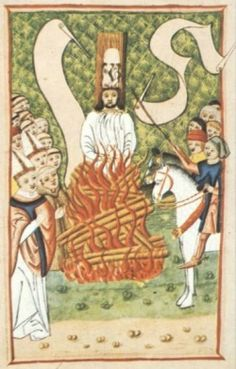 The Execution of John Hus.
