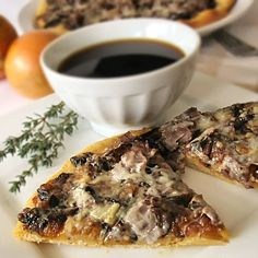 The Other Side of Fifty: French Dip Pizza