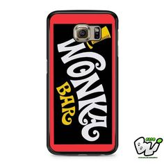 Chocolate Wonka Bar Samsung Galaxy S6 Case