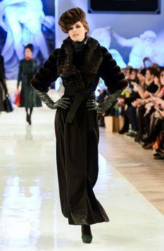 Russian style in fashion. Design by Igor Gulyaev (Russia).