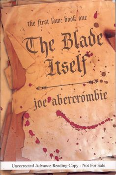 http://www.read-irresponsibly.com - The-Blade-Itself