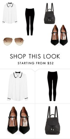 """IDK WHAT THIS OUTFIT IS"" by puppycat0107 on Polyvore featuring Tara Jarmon, Warehouse, Tabitha Simmons, rag & bone and Chloé"