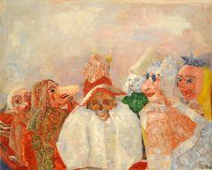 James Ensor - Masks Confronting Death [1888]