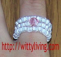 Cher:..this site has MANY Jewelry tutorials. Free. ..free beaded ring patttern gigi wrap