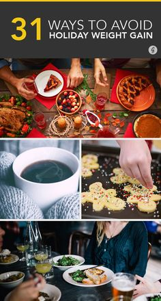 Stay on track with these easy-to-follow strategies you'll want to use when holiday time comes. #health #holidays http://greatist.com/health/ways-to-avoid-holiday-weight-gain