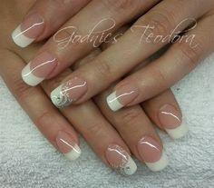 Simple white by Teodora77 - Nail Art Gallery nailartgallery.nailsmag.com by Nails Magazine www.nailsmag.com #nailart