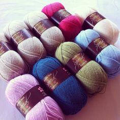 My Rose Valley Nordic shawl inspired Stylecraft Yarn Packs - Lusciously Loopy...