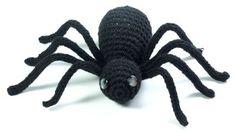 spider free crochet pattern - designer unknown