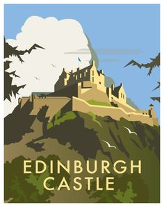 Scotland by Dave Thompson, via Behance