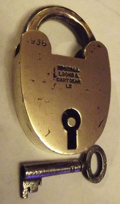 antique 1936 walsall locks & cartgear ltd. Antique Keys, Antique Doors, Vintage Keys, Under Lock And Key, Key Lock, Antique Shelves, Door Knobs And Knockers, Cool Lock, Safe Lock