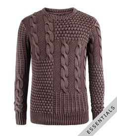 Fantastic to see interesting men's knits, that real guys can wear! Faded-Colour-Knitwear-3