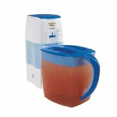 3 Quart Iced Tea Maker by Mr. Coffee. $33.78. MR. COFFEE TM-75 ICED TEA MAKER. TM75 Features: -Brews tea bags and leaves.-Easy-to-pour and dishwasher-safe pitcher.-Adjustable tea-steeping control.-Auto shut off.-Water window.