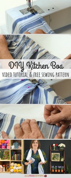 229 Best Sewing For The Kitchen Images In 2020 How To