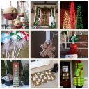 10 Simple DIY Outdoor Christmas Decorations