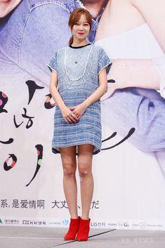 韓国・ソウル(Seoul)のインペリアルパレスホテル(Imperial Palace Seoul)で行われた、ソウル放送(SBS)の新ドラマ「大丈夫、愛さ(英題、It's Okay, That's Love)」の制作発表会に臨む、女優のコン・ヒョジン(Kong Hyo-Jin、2014年07月15日撮影)。(c)STARNEWS ▼25Jul2014AFP|SBSの新恋愛ドラマ「大丈夫、愛さ」、制作発表会 http://www.afpbb.com/articles/-/3021203 #공효진 #孔孝真 #Kong_Hyo_Jin #Gong_Hyo_jin #گونگ_هیو_جین #孔晓振 #孔曉振 #Гон_Хё_Чжин