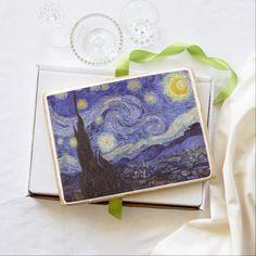 Vincent Van Gogh Starry Night Jumbo Cookie. Baked fresh to order!