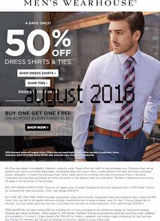 Free Printable Coupons: Men's Wearhouse Coupons