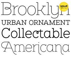 Brownstone Slab from Sutipos. #typography #fontshop #fonts