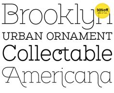 Brownstone Slab from Sutipos. #typography #fontshop #fonts