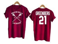 Teen Wolf shirt beacon hills tshirt GREENBERG 21 Tshirt #tee #tshirt #cool #awsome