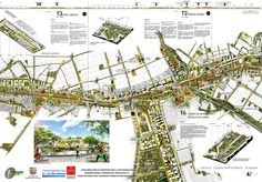 Galería de Así será la segunda fase del Corredor Verde de Cali en Colombia - 21 Cali, Parque Linear, Master Plan, Urban Planning, Urban Design, Landscape Architecture, Presentation, Layout, Graphic Design