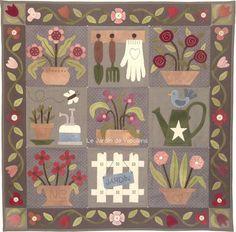 Le Jardin de Woolens - Fleurs en pot - Kit lainage