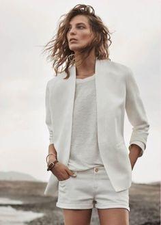 White on White Beyaz Kombin Modası | 7/24 Kadın | Kadınlar İçin Her Şey