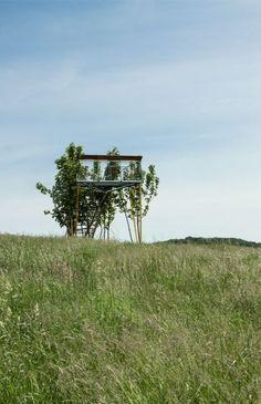 Aussichtsturm am Lippeufer, Olfen, NRW