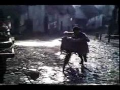 Hovis 'Bike' advert 1973 (Britain's favourite TV ad) location, Gold Hill, Shaftesbury, Dorset, UK For Nancy