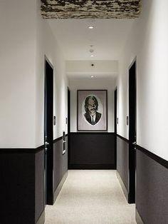 Ideas Hotel Door Design Hallways For 2020 Hotel Hallway, Hotel Corridor, Hotel Door, Corridor Ideas, 7 Hotel, Hotel Lobby, Hallway Paint, Hallway Walls, Flur Design