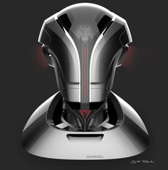 #helmetchallenge - Demogorgon Robot on Behance