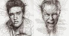 Blog sobre arte e historia del arte Realistic Pencil Drawings, Animal Drawings, Art Drawings, Vector Portrait, Digital Portrait, Kuala Lumpur, Vince Low, Work Cartoons, Art Du Monde