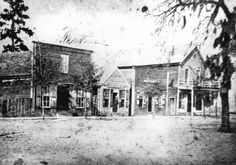 Gainesville in the Civil War era. State Archives of Florida, Florida Memory Collection