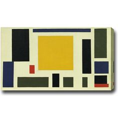USA Theo van Doesburg 'Composition The Cow' tract Oil on Canvas Art