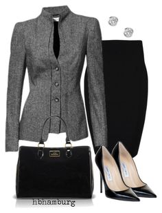 No. 170 - Who's the boss ? by hbhamburg on Polyvore featuring polyvore moda style Plein Sud Jimmy Choo Lulu Guinness J by Jasper Conran fashion clothing