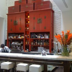 Asian inspired bar