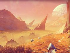 No Man's Sky: A Computer Game Forged by Algorithms and Filled With a Diverse Flora and Fauna No Man's Sky, Scream Sound, Ciel Art, Hello Games, Journey, Intelligent Design, Sky Art, Weird Creatures, Sounds Like