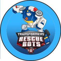 Kit de Transformers Rescue Bots para Imprimir Gratis. | Ideas y material gratis para fiestas y celebraciones Oh My Fiesta!