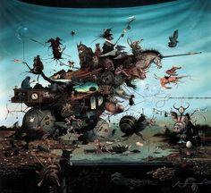 Hans Kanters. Мрачный сюрреализм
