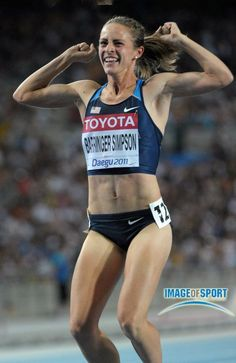 Jenny Simpson.  world champion!!