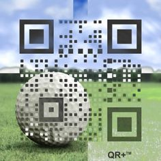 Highly Graphical QR Code: QR+, Unused Error Code (UEC): 100%, (c)2011-2013 mobiLead - Patent Published