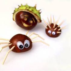 Autumn Crafts: Chestnut Animals